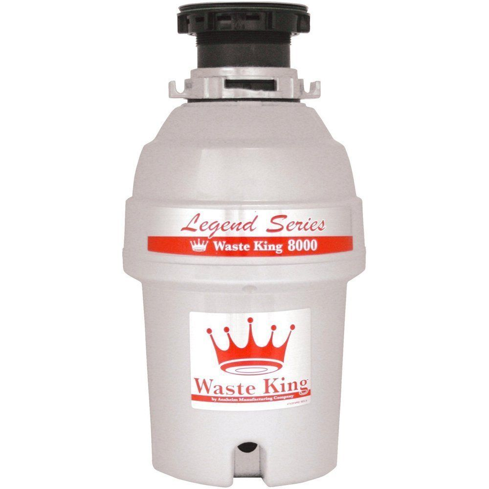 Waste King L-8000 Legend Series 1.0 HP Continuous Feed Waste Disposer