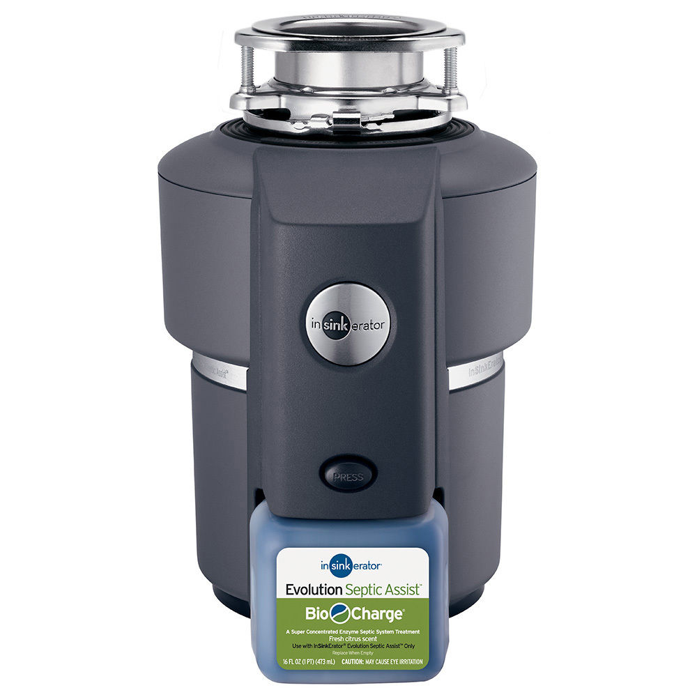 InSinkErator Evolution Septic Assist 3/4 HP Household Garbage Disposer